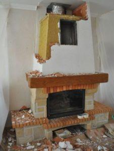 Poêle VS cheminée - Démontage cheminée - Davis&Co