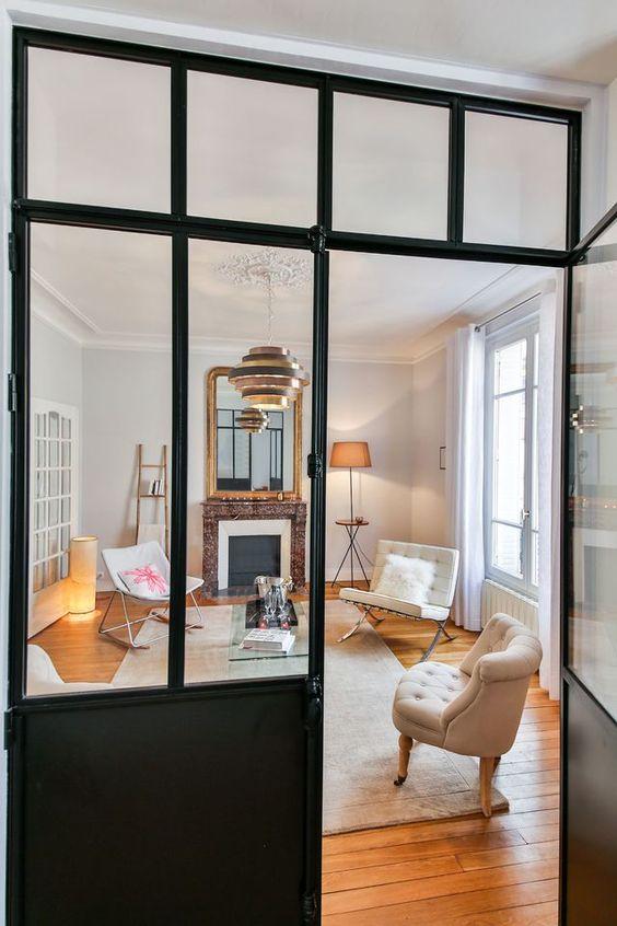 Verrière appartement haussmannien - Davis&Co