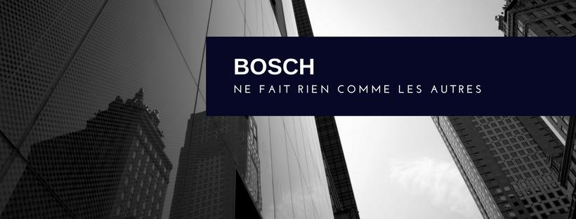 Pas comme les autres - Bosch - Davis&Co