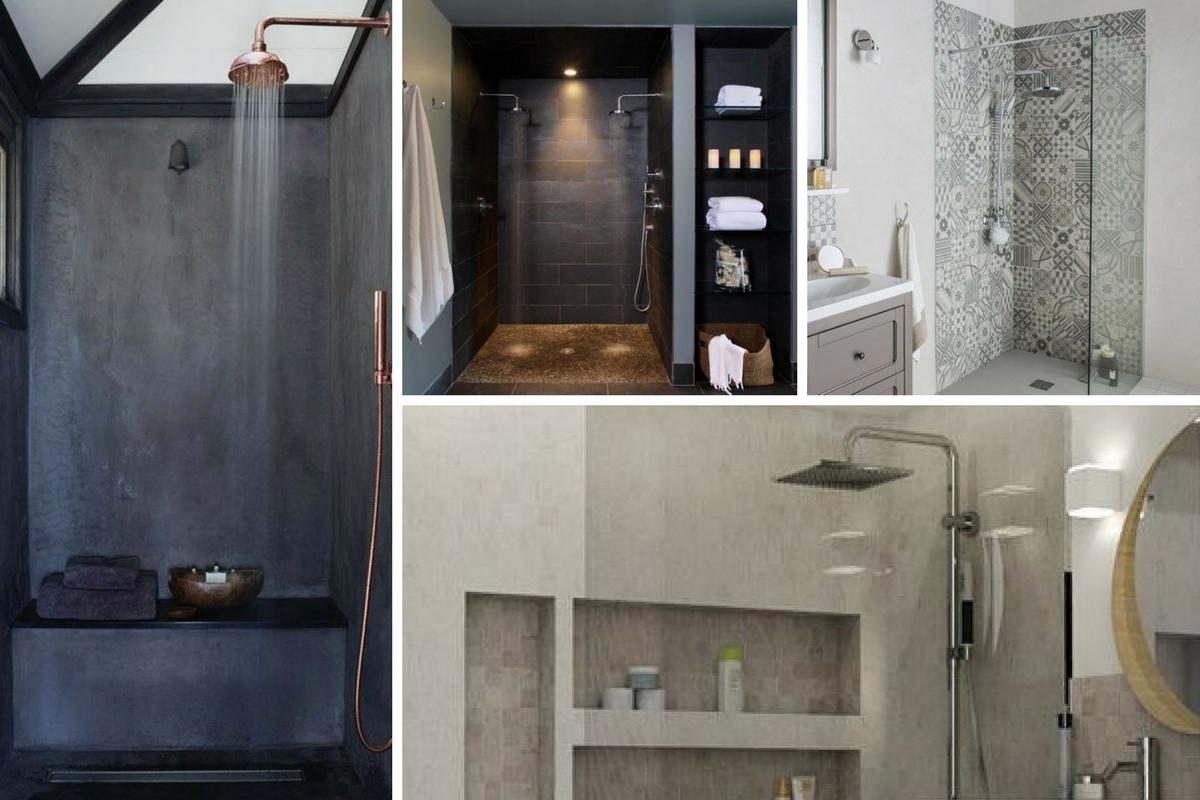 Douches italiennes - Salles de bain - Davis&Co
