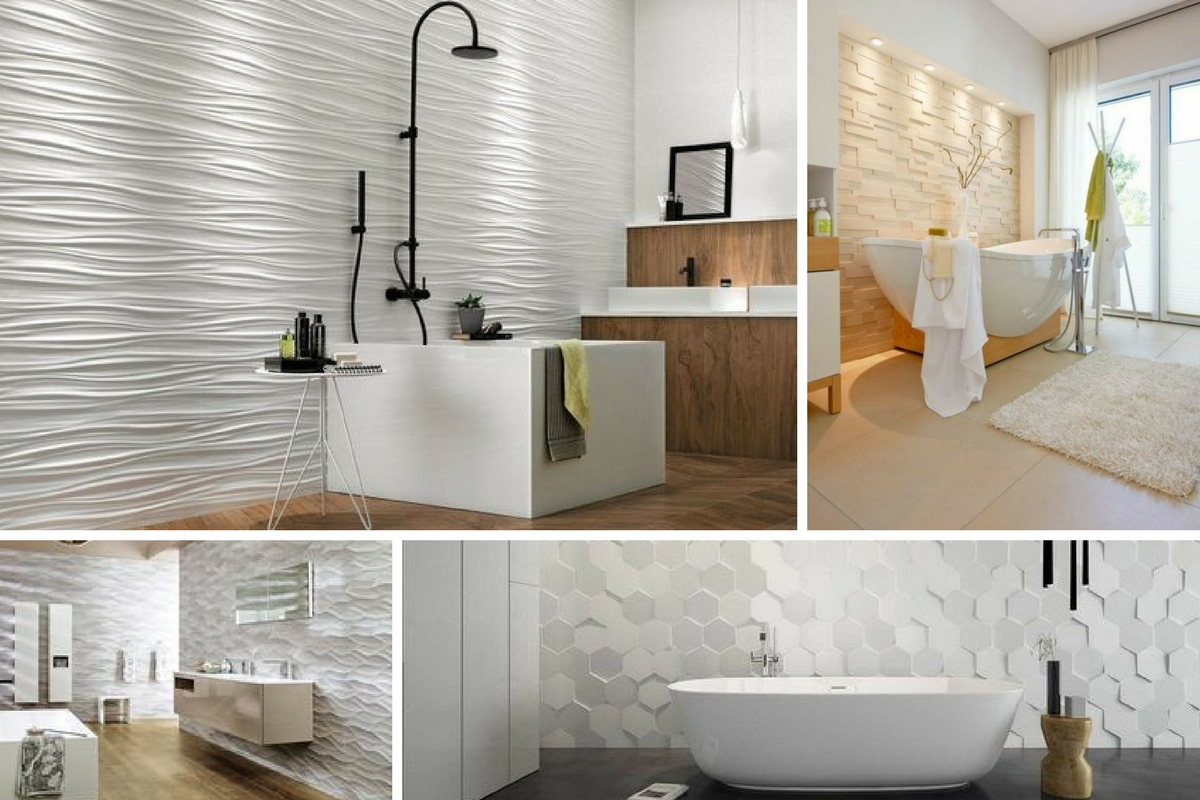 Mur relief - Salles de bain - Davis&Co